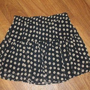 Super cute floral print skirt